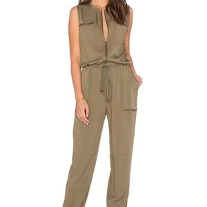 Greylin Olive Green Jumpsuit